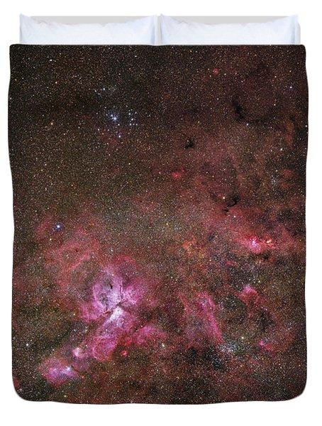 Ngc 3372, The Eta Carinae Nebula Duvet Cover by Robert Gendler