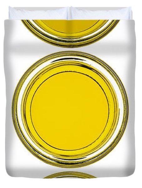 Olive Oil Duvet Cover by Frank Tschakert