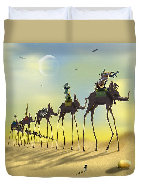 On The Move Duvet Cover by Mike McGlothlen