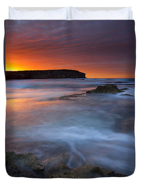 Pennington Dawn Duvet Cover by Mike  Dawson