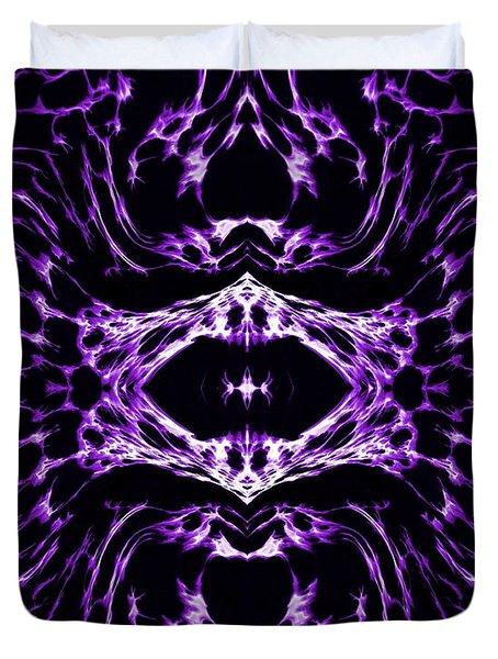 Purple Series 3 Duvet Cover by J D Owen