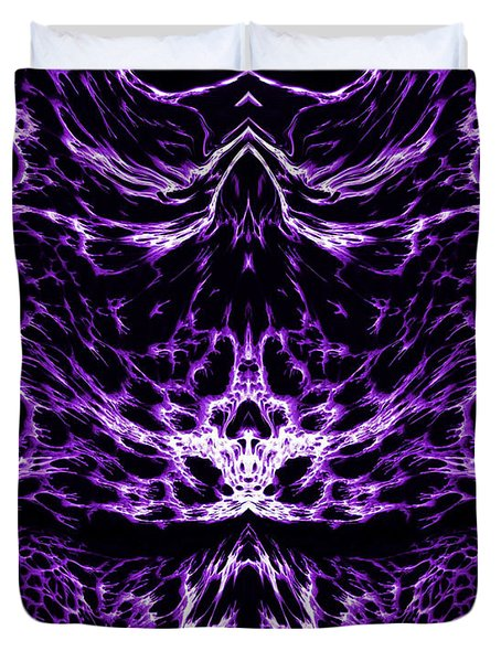 Purple Series 6 Duvet Cover by J D Owen