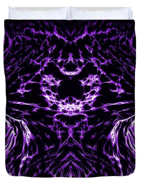 Purple Series 8 Duvet Cover by J D Owen