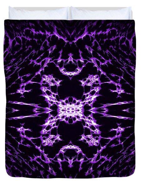 Purple Series 9 Duvet Cover by J D Owen