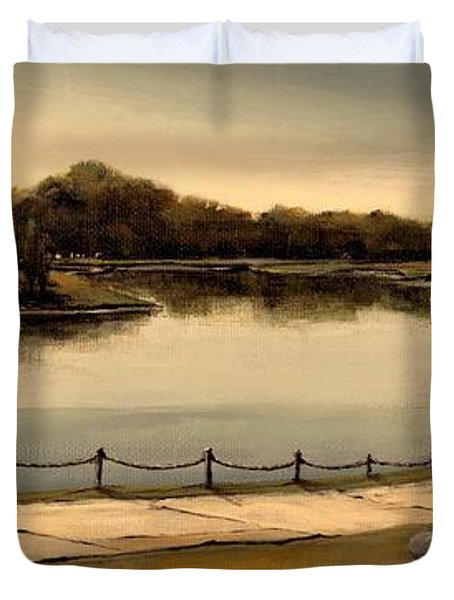 Reflections Duvet Cover by Diane Strain