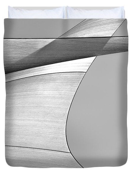 Sailcloth Abstract Number 4 Duvet Cover by Bob Orsillo