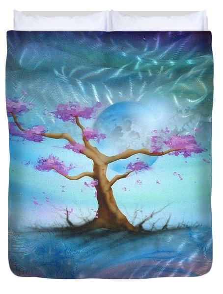 Sakura Duvet Cover by Luis  Navarro