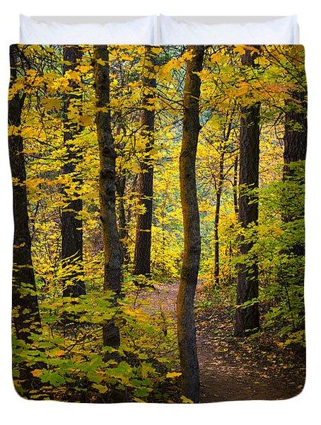 The Magic Forest  Duvet Cover by Saija  Lehtonen