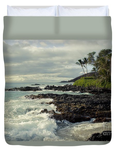 The Sea Duvet Cover by Sharon Mau