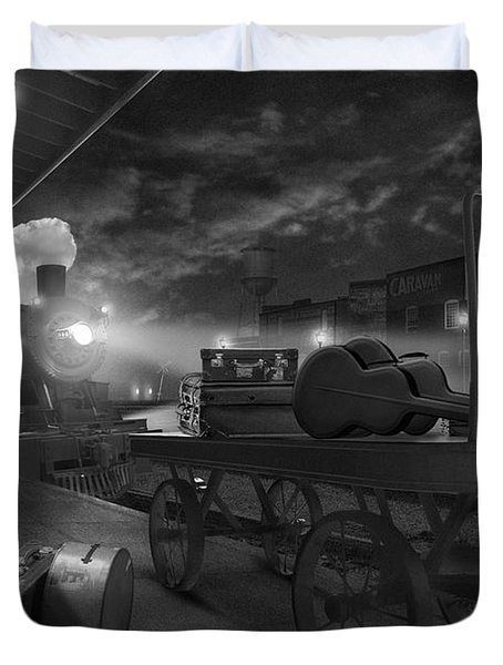 The Station Duvet Cover by Mike McGlothlen