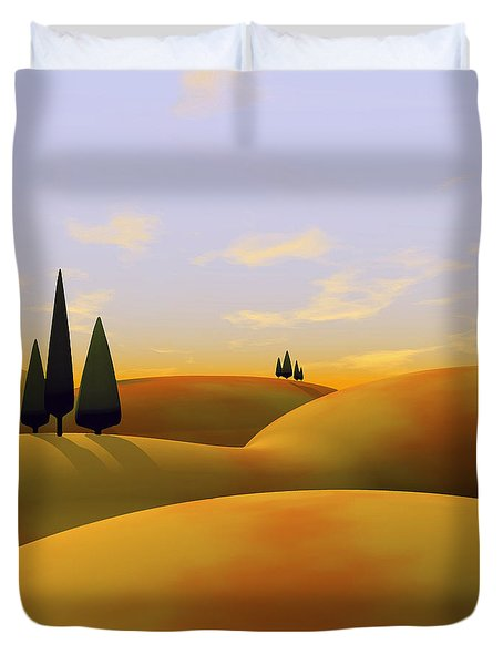Toscana 3 Duvet Cover by Cynthia Decker