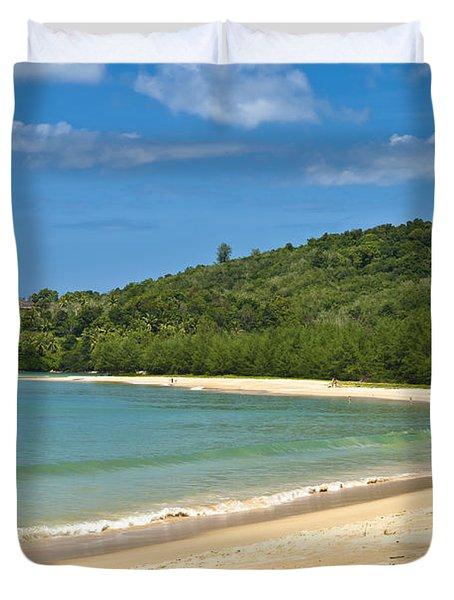Tropical Paradise Duvet Cover by Georgia Fowler