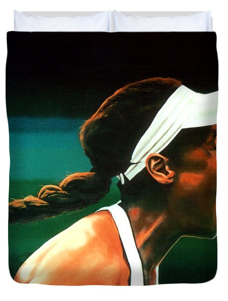 Venus Williams Duvet Cover by Paul Meijering