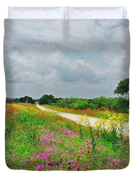 Wildflower Wonderland Duvet Cover by Lynn Bauer