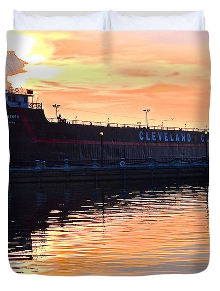 William G Mather Duvet Cover by Frozen in Time Fine Art Photography