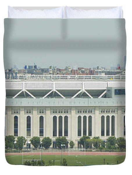 Yankee Stadium Duvet Cover by Theodore Jones