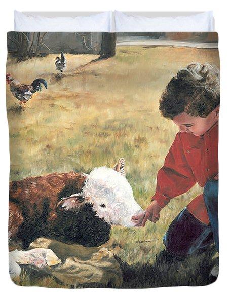 20 Minute Orphan Duvet Cover by Lori Brackett