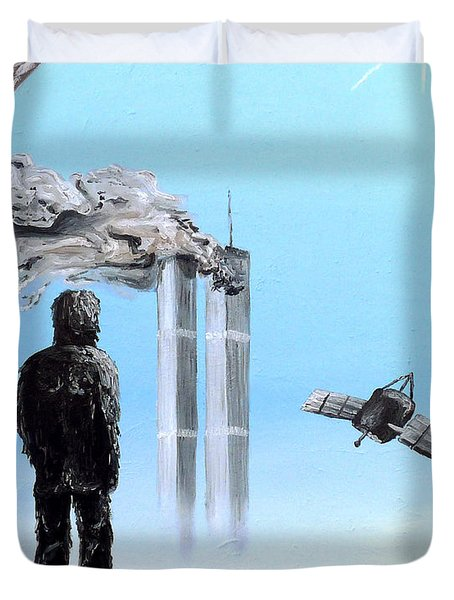 2012-confronting Inevitability Duvet Cover by Ryan Demaree