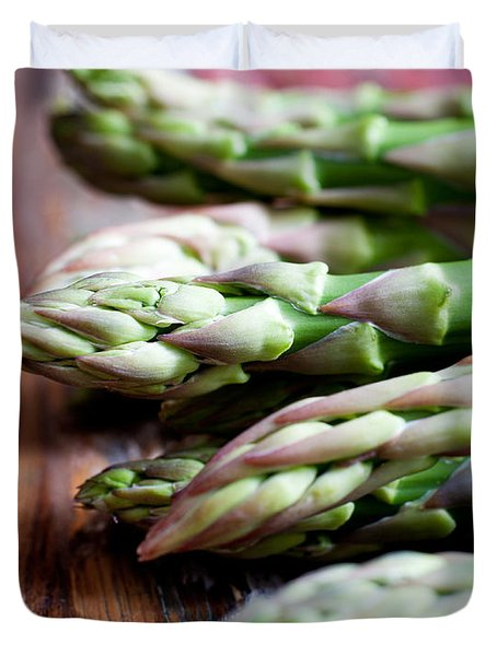 Asparagus Duvet Cover by Kati Molin