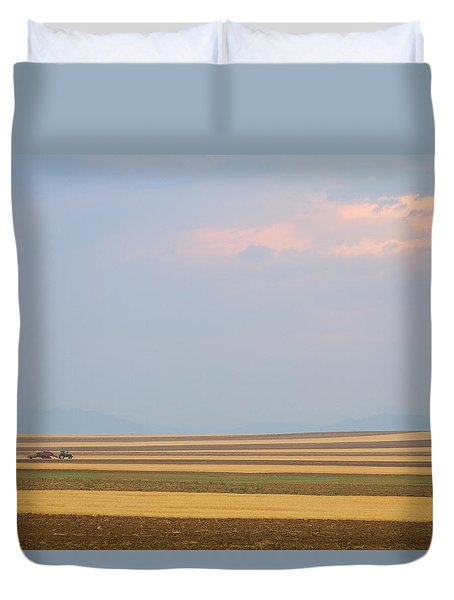 Boulder County Colorado Open Space Country View  Duvet Cover by James BO  Insogna