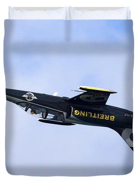 Breitling Air Display Team Duvet Cover by Nir Ben-Yosef