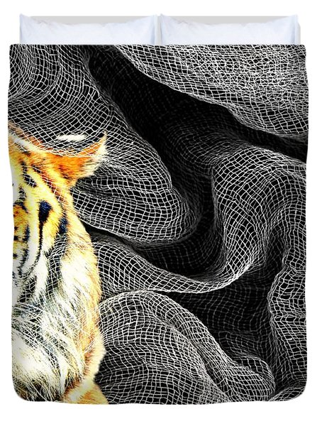 Capture Duvet Cover by Diana Angstadt