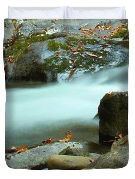 Flow Duvet Cover by Dan Sproul