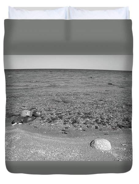 Lake Huron Duvet Cover by Frank Romeo