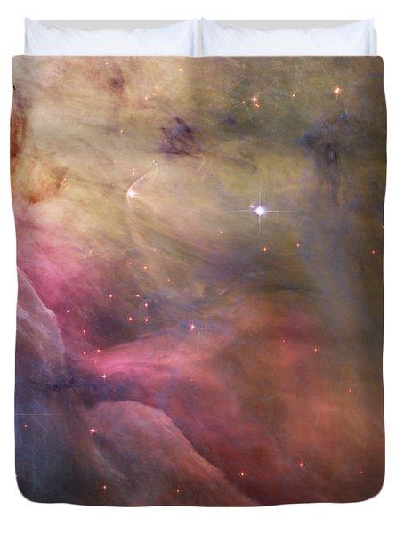 Orion Nebula Duvet Cover by Sebastian Musial