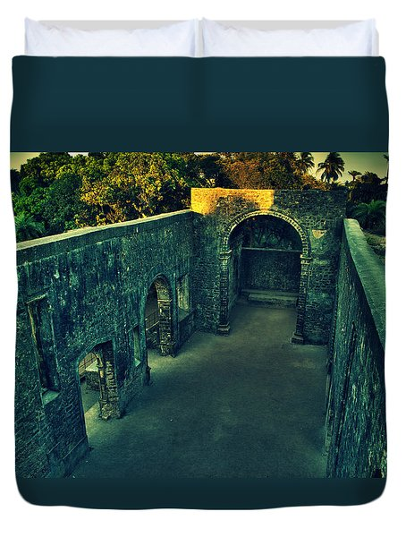 Vasai Fort Duvet Cover by Salman Ravish