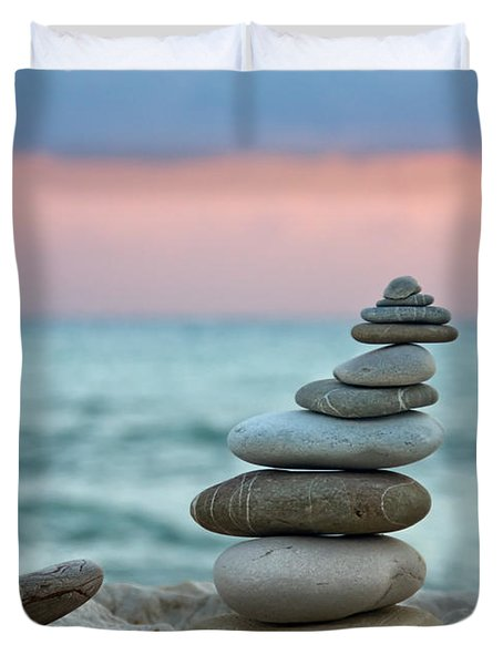 Zen Duvet Cover by Stylianos Kleanthous