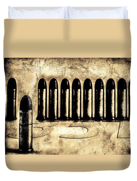 357 Duvet Cover by Bob Orsillo