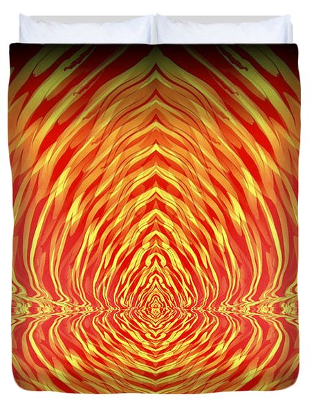 Abstract 98 Duvet Cover by J D Owen