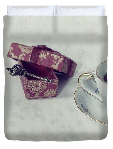 Coffee Time Duvet Cover by Joana Kruse