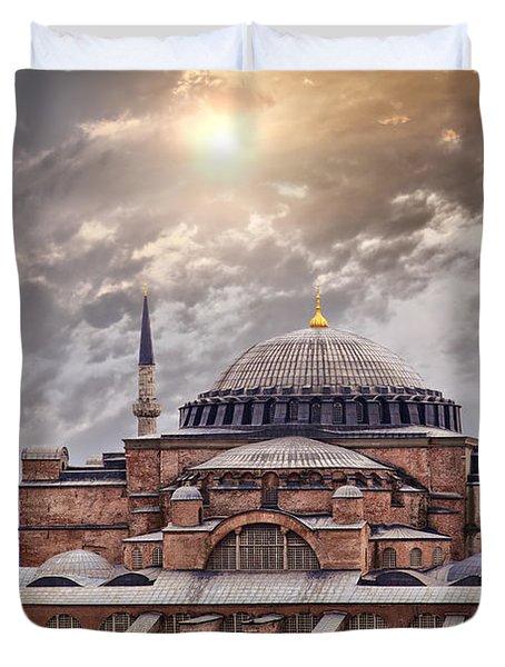 Hagia Sophia Istanbul Duvet Cover by Sophie McAulay