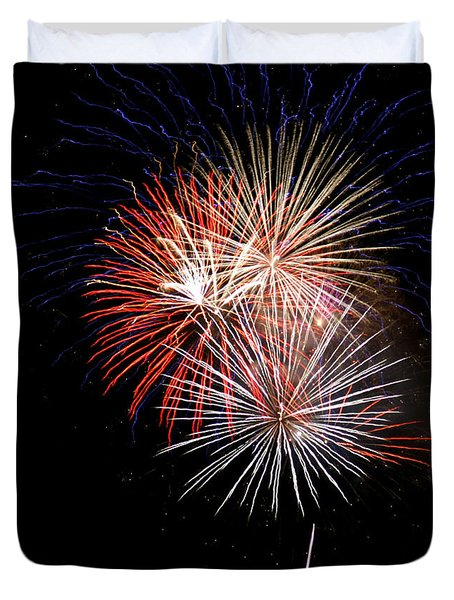 4th Of July 7 Duvet Cover by Marilyn Hunt