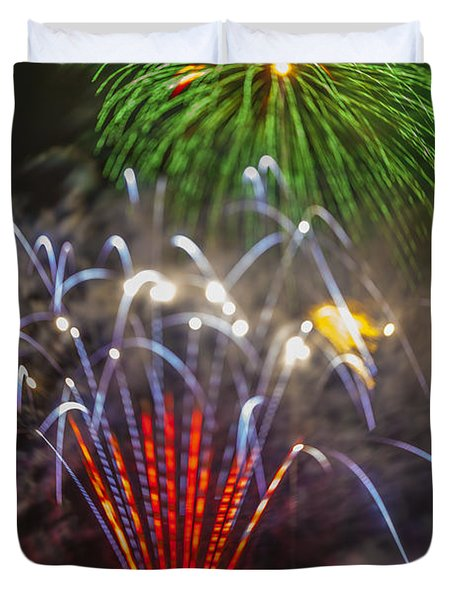 4th of July through the Lens Baby Duvet Cover by Scott Campbell