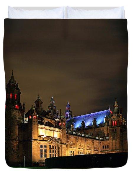 Kelvingrove Museum Duvet Cover by Grant Glendinning