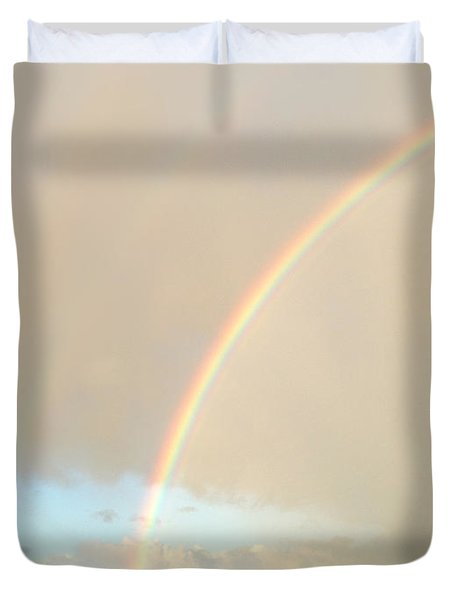 Rainbow Duvet Cover by Les Cunliffe