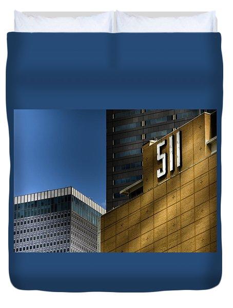 511 Duvet Cover by Darryl Dalton