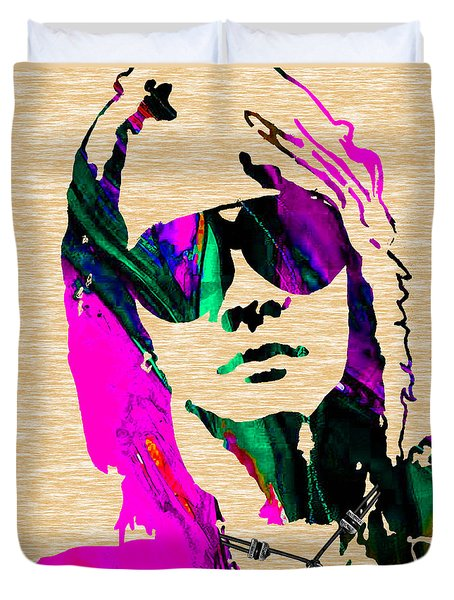 Axl Roxe Collection Duvet Cover by Marvin Blaine