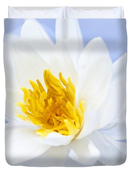 Lotus Flower Duvet Cover by Elena Elisseeva