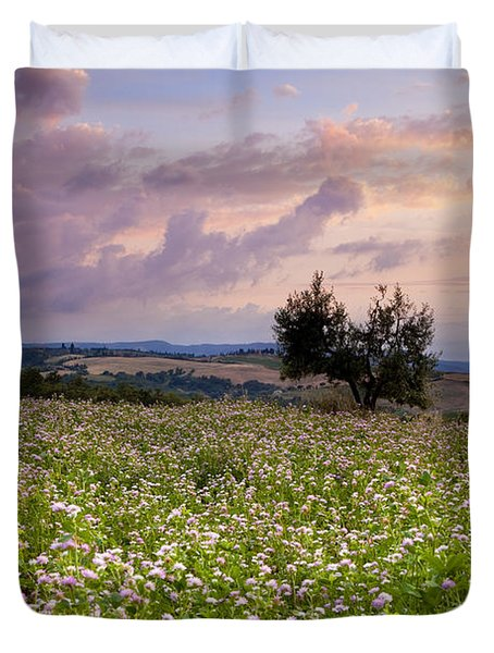 Tuscany Duvet Cover by Brian Jannsen