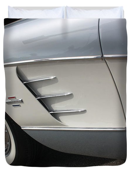61 Corvette-grey-sidepanel-9241 Duvet Cover by Gary Gingrich Galleries