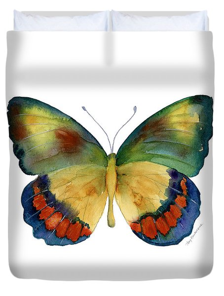 67 Bagoe Butterfly Duvet Cover by Amy Kirkpatrick