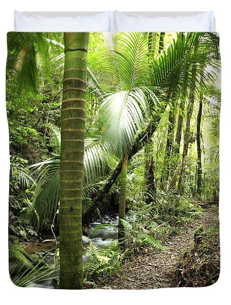 Jungle  Duvet Cover by Les Cunliffe