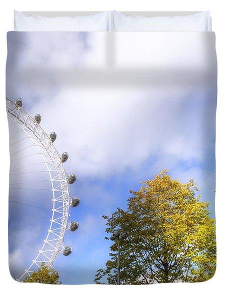 London Duvet Cover by Joana Kruse