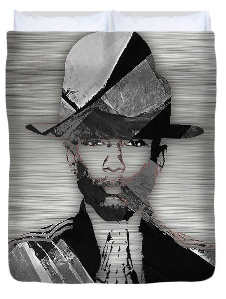 Pharrell Williams Collection Duvet Cover by Marvin Blaine