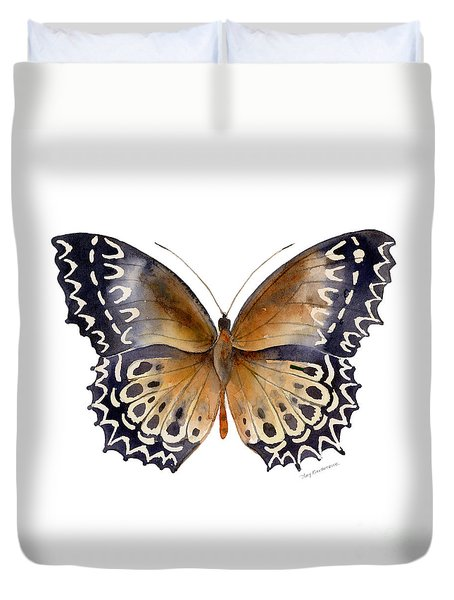 77 Cethosia Butterfly Duvet Cover by Amy Kirkpatrick