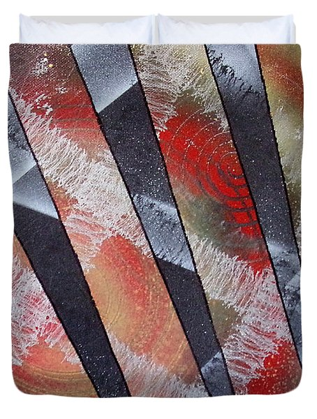 Untitled Duvet Cover by Joshua Hamell